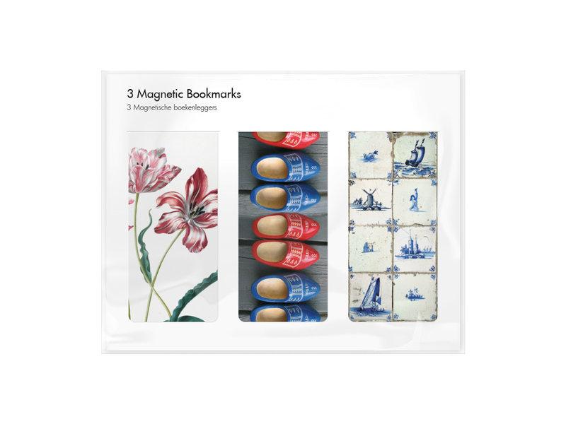 3er-Set, magnetisches Lesezeichen,  Holland - 2