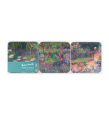 Dessous de verre, lot de 6, jardin de Monet à Giverny