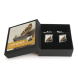 Cufflinks, Carel Fabritius, Goldfinch