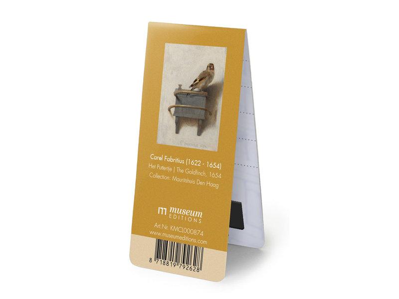 Magnetische Boekenlegger, Het Puttertje, Fabritius