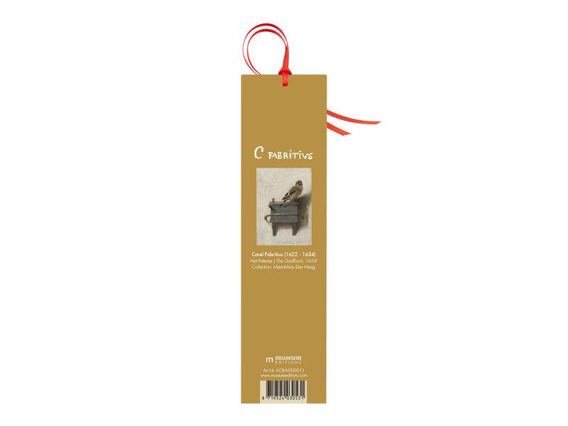 Marque-page classique,  Le Chardonneret, Fabritius