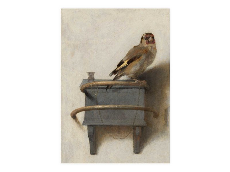 Carte postale, Carel Fabritius, Le Chardonneret