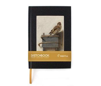 Sketchbook,  Goldfinch, Carel Fabritius