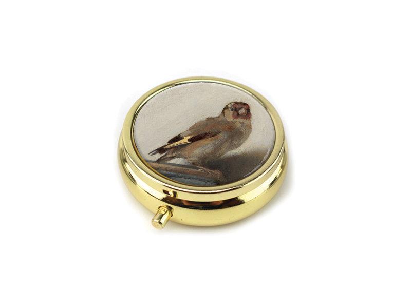 Boîte à pilules,  Le Chardonneret, Carel Fabritius