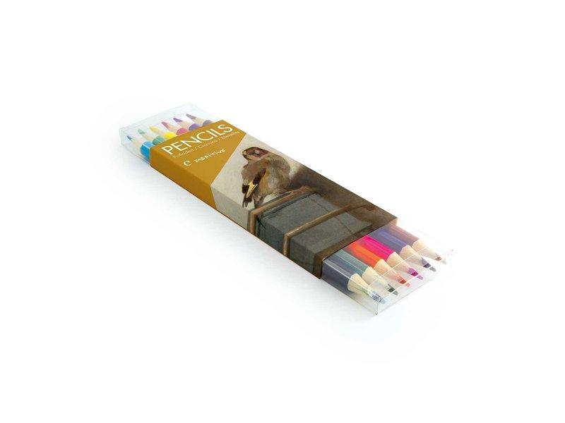 Colouring Pencil Flat Pack, Carel Fabritius, Goldfinch