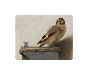 Mouse pad, Goldfinch, Carel Fabritius
