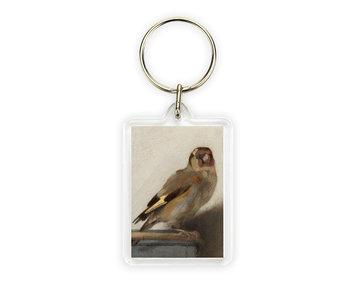 Keyring, Carel Fabritius, Goldfinch