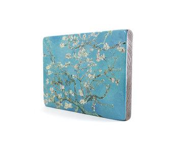 Maestros en madera,Flor de almendro, Vincent van Gogh