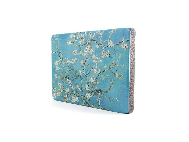 Masters-on-wood,  Almond Blossom, Van Gogh,  300 x  195 mm