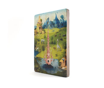 Maestros en madera, Jheronimus Bosch, Jardín de las delicias