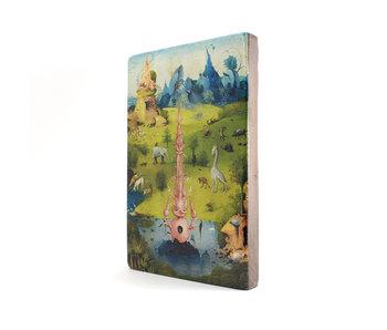 Meister auf Holz,  Jheronimus Bosch, Garten der irdischen Freuden