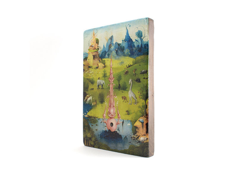Masters-on-wood,  J.Bosch, Garden of Earthly Delights,  300 x  195 mm