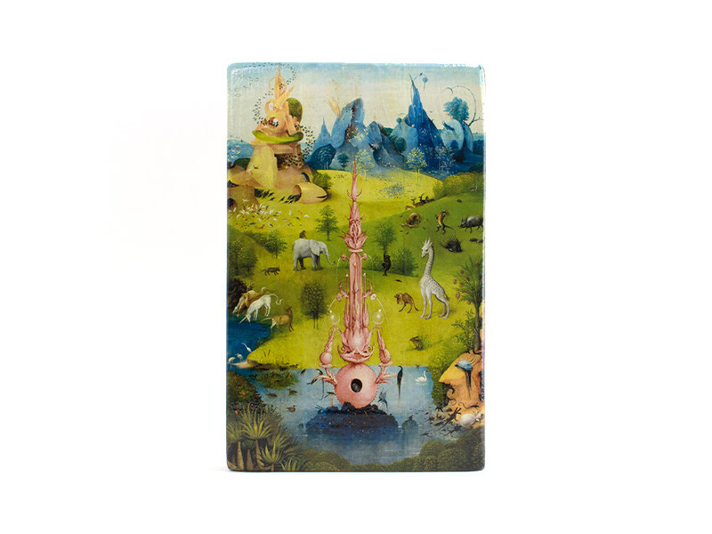 Maestros en madera, J.Bosch, Jardín de las delicias,  300 x  195 mm