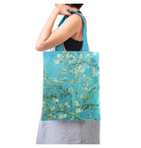 CottCotton Tote Bag Luxe, Van Gogh, Almond Blossom