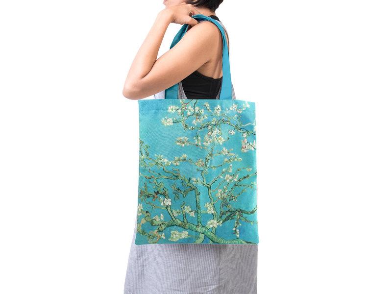 Katoenen tas Luxe, Van Gogh, Amandelbloesem