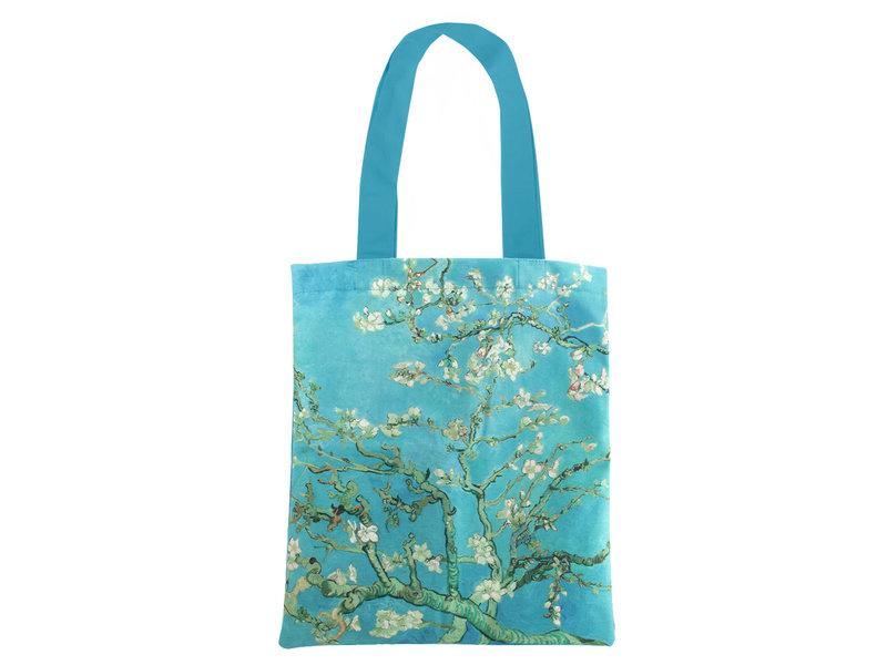 Baumwolltasche Luxe,  Van Gogh, Mandelblüte