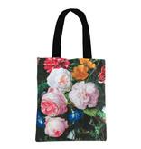 Cotton Tote Bag Luxe, De Heem, Flower still life