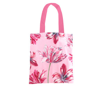 Cotton Tote Bag Luxe, Tulips Merian
