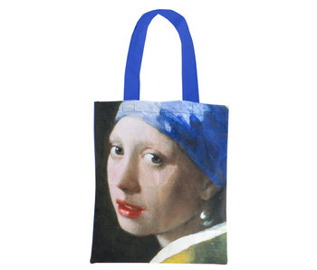 Baumwolltasche Luxe,  Vermeer, Mädchen mit der Perle