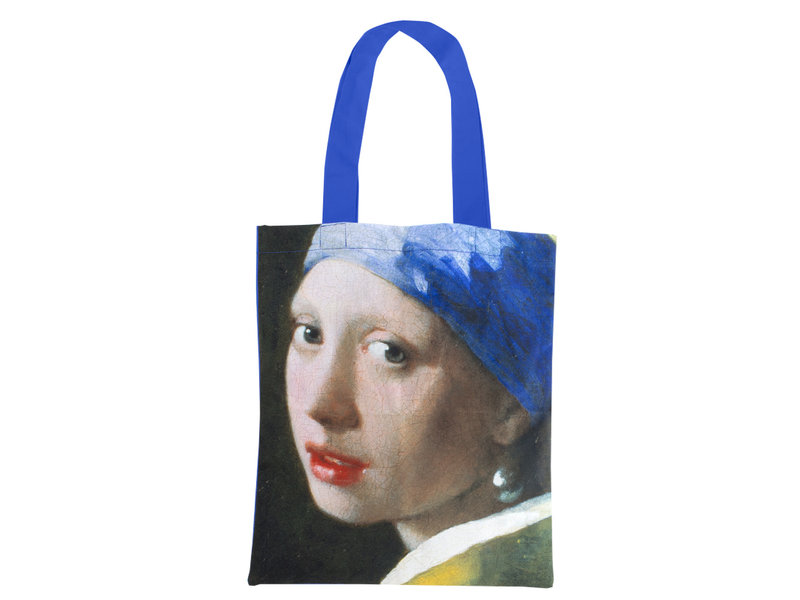 CottCotton Tote Bag Luxe, Vermeer, Girl with the pearl