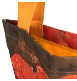 Sac en coton Luxe, Breitner, Fille en kimono rouge