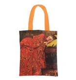 Baumwolltasche Luxe,  Breitner, Mädchen im roten Kimono