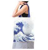 Cotton Tote Bag Luxe, Hokusai