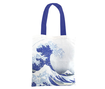 Cotton Tote Bag Luxe, Hokusai