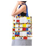 Cotton Bag Luxe, Mondrian Victory Boogie Woogie