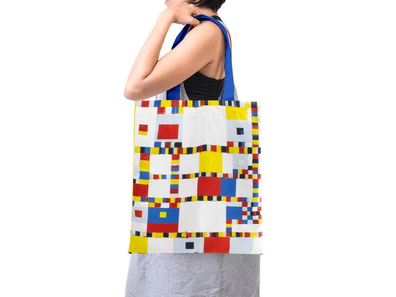Bolsa de algodón Luxe, Mondrian Victory Boogie Woogie
