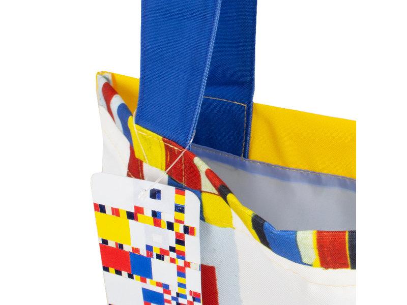 Baumwolltasche Luxe,  Mondrian Victory Boogie Woogie