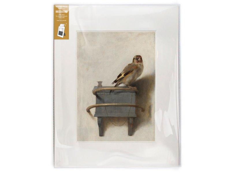 Passe-partout , 40 x 30 cm, Le Chardonneret, Carel Fabritius