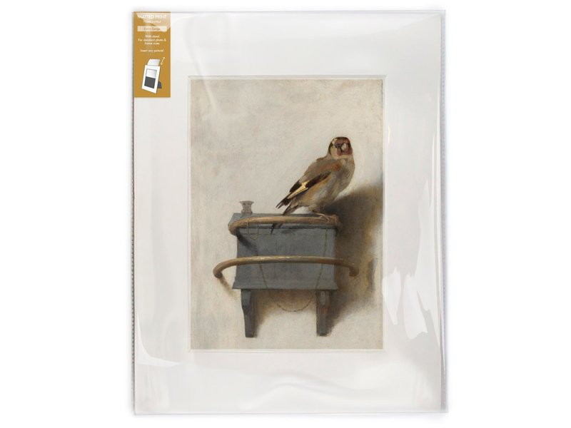 Passe-partout, L,40 x 30 cm,  Der Stieglitz, Carel Fabritius
