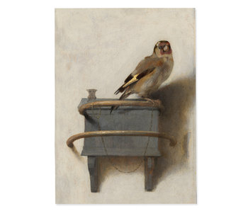 Poster 50x70 cm, Goldfinch, Carel Fabritius