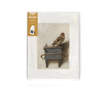 Matted prints with reproduction, M, Goldfinch, Carel Fabritius