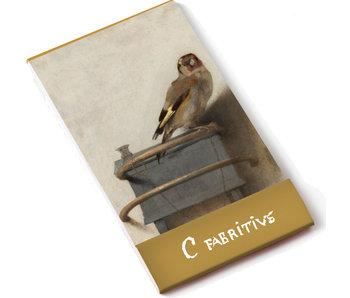 Notelet A7, Puttertje, Carel Fabritius