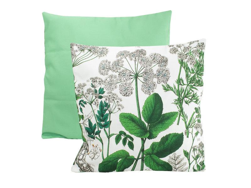 Cushion cover, 45x45 cm, Elder Leaf, Hortus Botanicus
