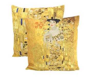 Funda de cojín, 45x45 cm, Klimt