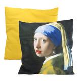 Housse de coussin, 45x45 cm, Vermeer, Fille à la perle