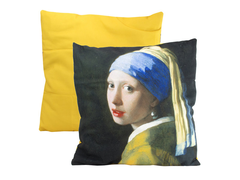 Cushion cover, 45x45 cm, Vermeer, Girl with the pearl