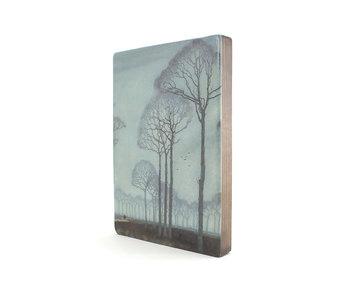 Maestros en madera, Jan Mankes, hilera de árboles