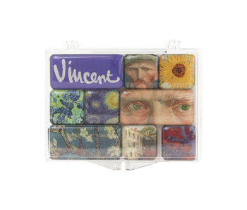 Ensemble de mini aimants, Van Gogh