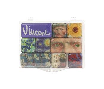 Set de mini imanes, Van Gogh
