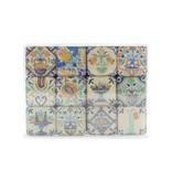 Mini Magnet Set, Delft Polychrome tiles