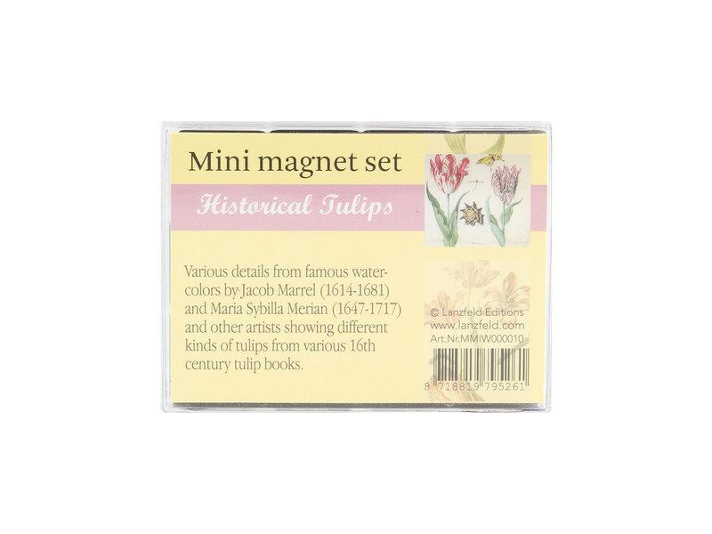 Mini Magneten Set, Tulpen