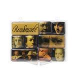 Set de mini imanes, Rembrandt