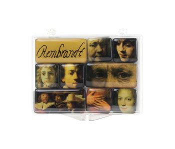 Mini Magneten Set, Rembrandt