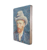 Masters-on-wood, Zelfportret, Vincent van Gogh , 300 x  195 mm