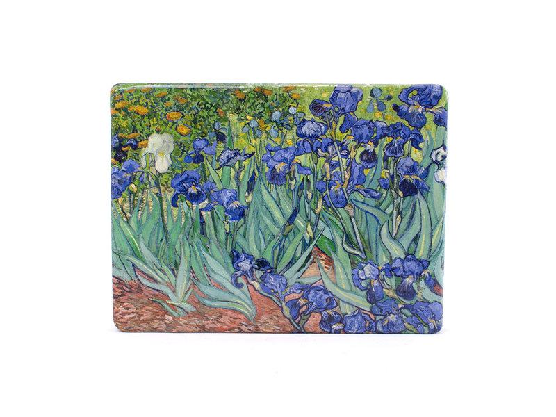 Maîtres-sur-bois, Irises, Vincent van Gogh,  300 x  195 mm