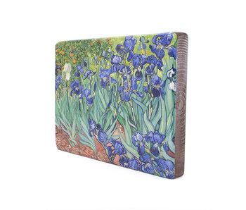 Masters-on-wood,  Irises, Vincent van Gogh